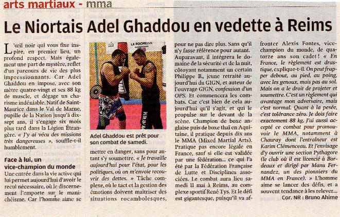 Karim Clémenceau préparation physique MMA