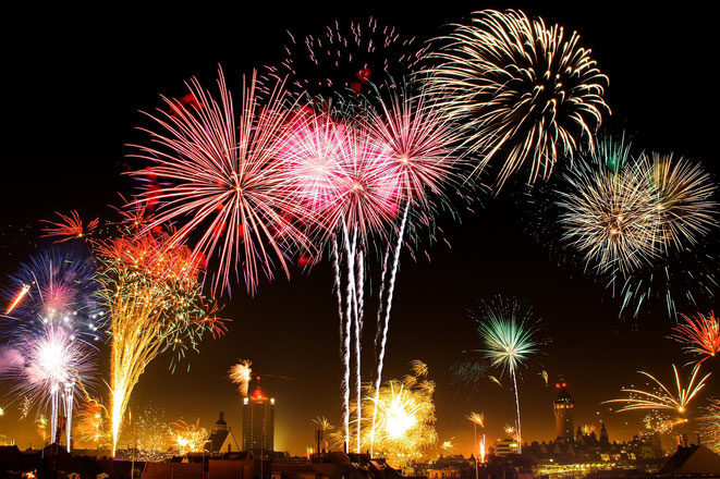 Feuerwerk für die Homepage