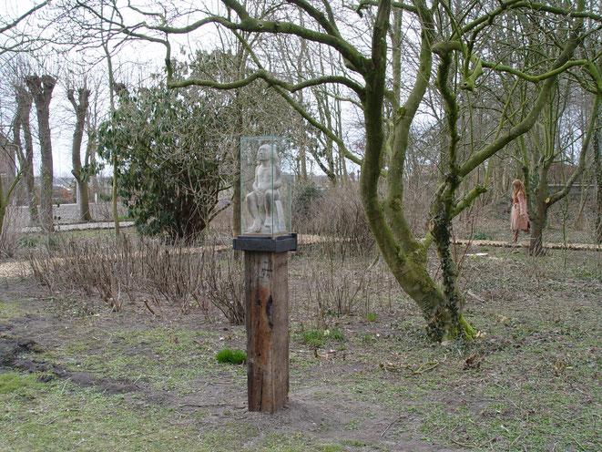 De Man der Smarten in de kloostertuin in Westbeemster 2013