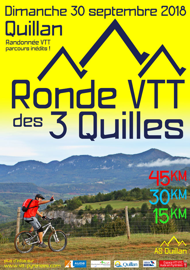 Ronde VTT des 3 Quilles 2018 - Quillan