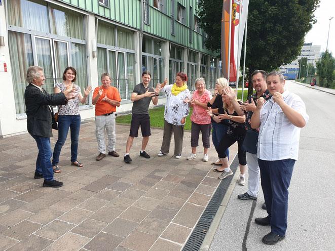 Abschluss-Meeting vom 30. August bis 1. September 2019 in der Stadt Salzburg