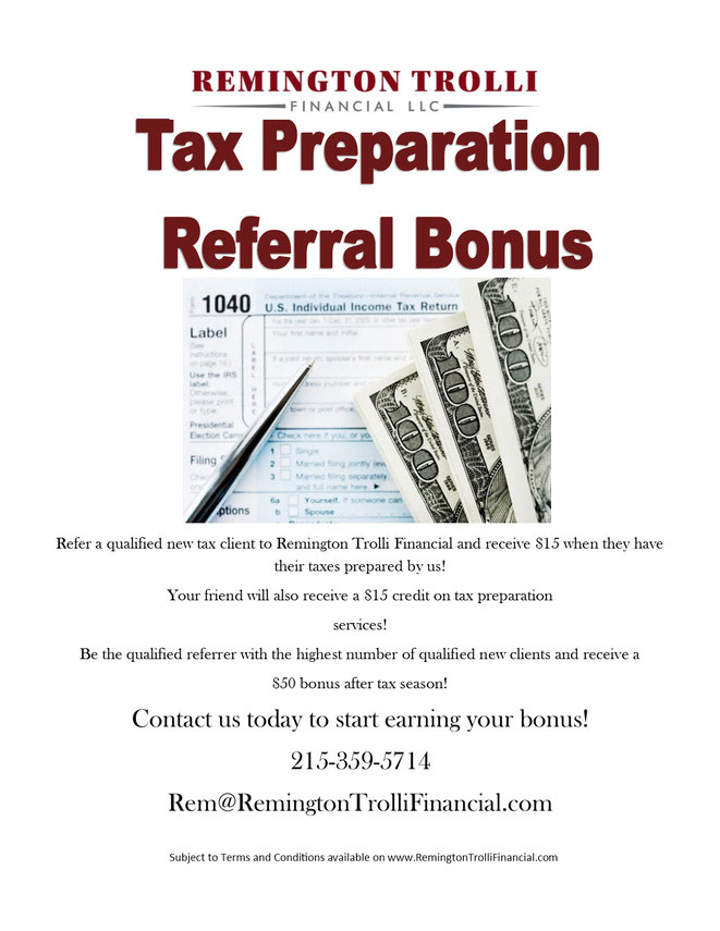 Earn Money on Tax Preparation Referrals