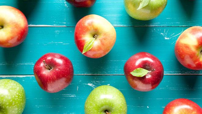 Remedio para perder peso con la cáscara de manzana