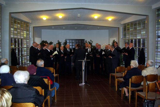 Gesangverein Sängerlust Pfungstadt gibt seit 56 Jahren an Totensonntag Konzert zur Erinnerung