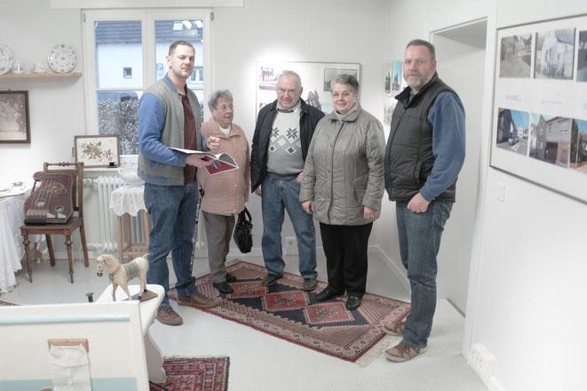 Bilder vom Besuch in der Hahner Heimatstube