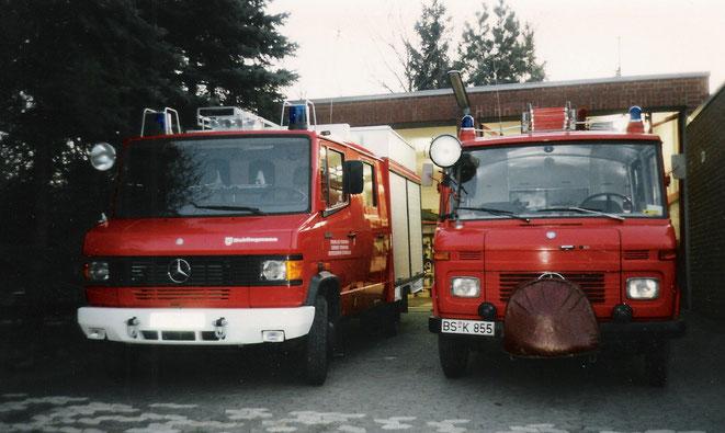 1992, das alte und das neue LF 8