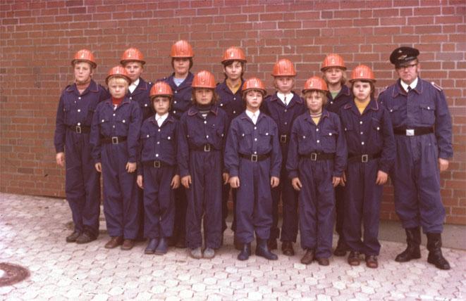 Jugendfeuerwehr Schandelah 1974