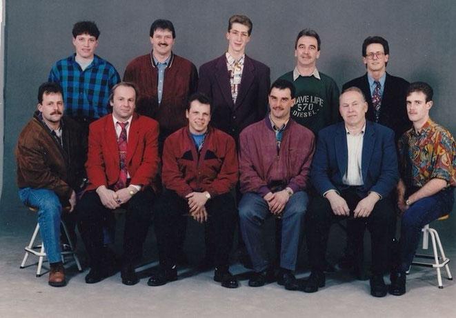 Gründungsausschuss mit dem ersten Obmann Martin Appler