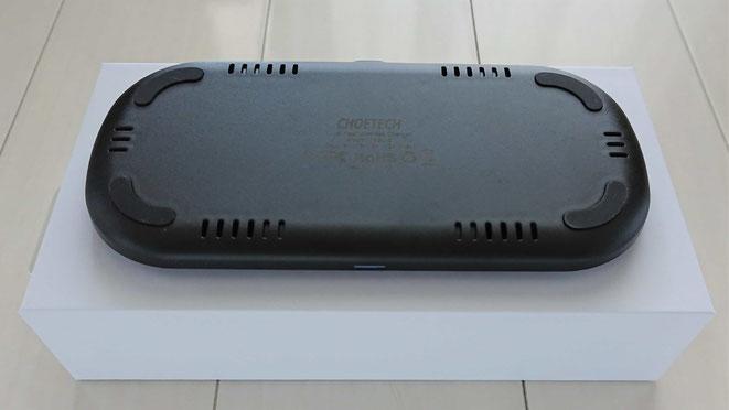 CHOETECH ワイヤレス充電器 Qi 放熱