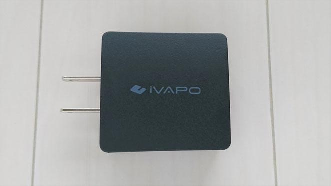 USB充電器 QuickCharge3.0 iVAPO
