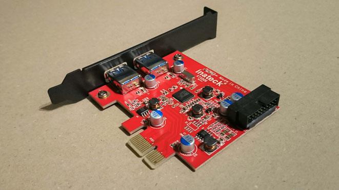 Inateck USB3.0増設ボード