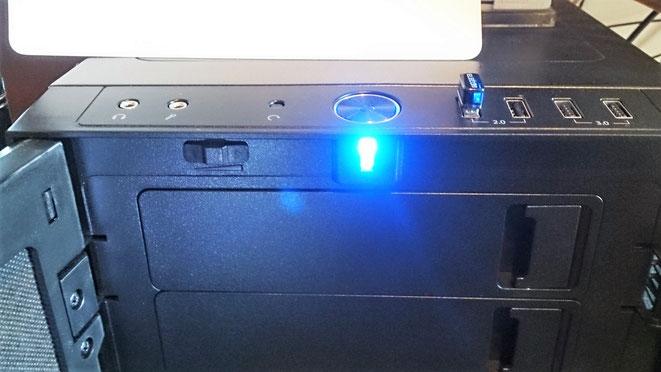 ファンスピード コントロールボタン