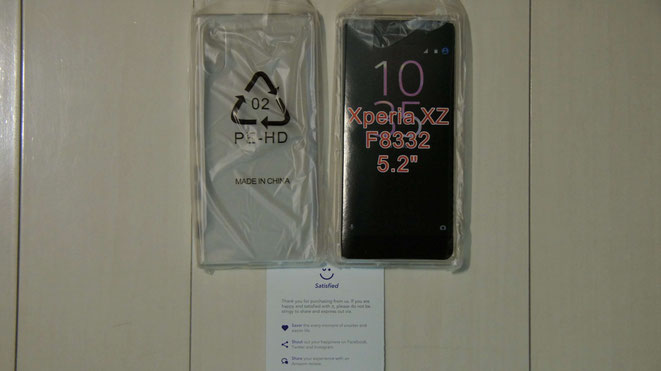 Sony Xperia XZ ケース, Simpeak【2枚】 TPUクリア透明ケース保護カバー SO-01J / SOV34 / 601SO / F8332 対応