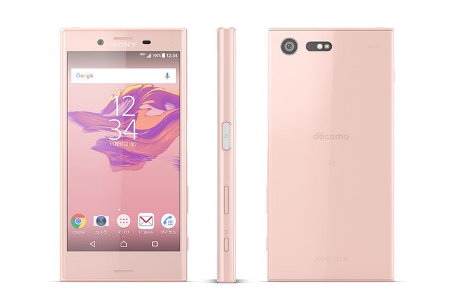 XPERIA X Compact ソフトピンク
