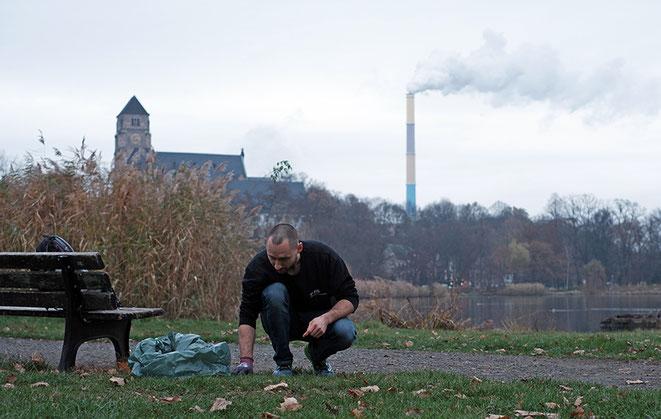 Schlossteich, Chemnitz, Clean up, explainora, plastikmüll, umwelt, müllproblem