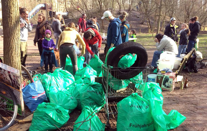 tim turtle, recycling, leipziger frühjahrsputz, explainora, ostern, plastik, cleanup