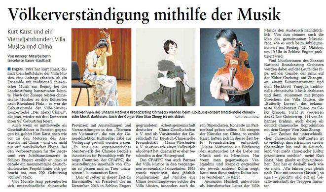 Rhein-Zeitung 24.10.2018