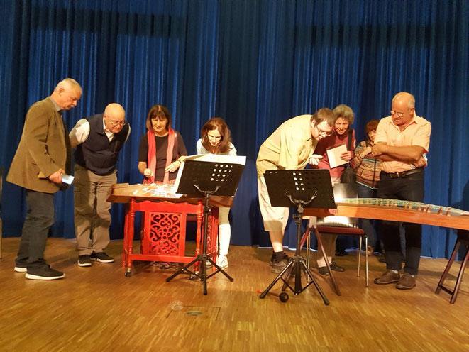 Neuwied-Engers, 11.09.2017 Musik, Scherenschnitt und Teigfiguren