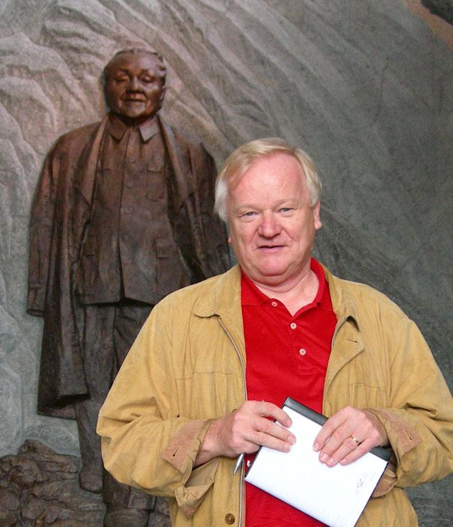 Dietmar Schulz (Aufnahme im Deng-Museum in Sichuan)