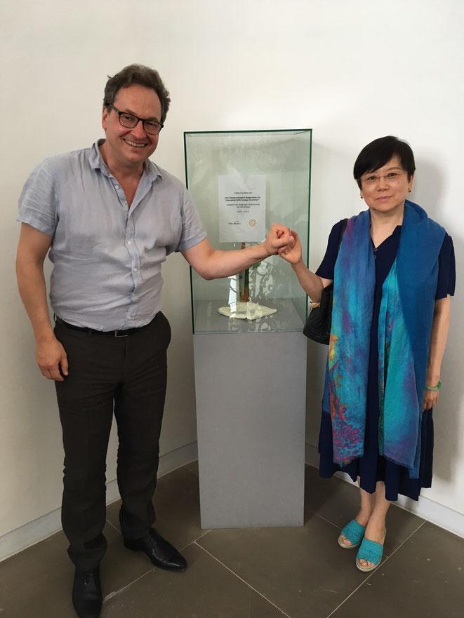 Prof. Alexander Hülshoff ° Präsidentin Li Xiaolin