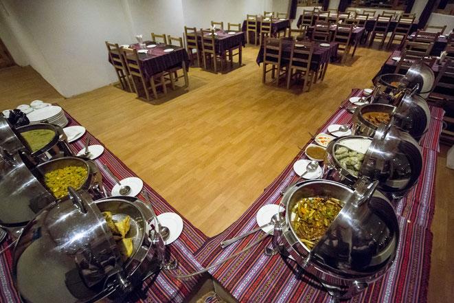 Ratna Hotel Ladakh: Dining Hall