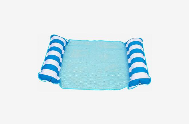 matelas gonflable hamac avec filet pour piscine