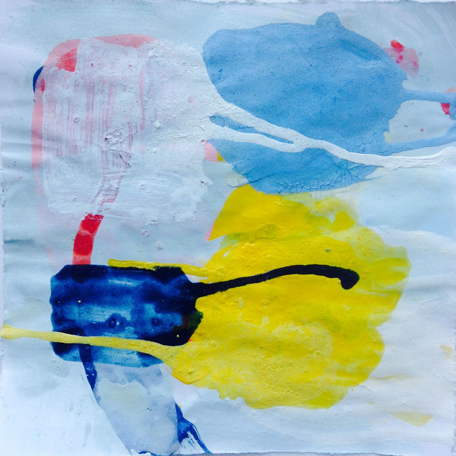 Thomas Jüptner  bozzetto 2020 18 x 18 cm egg oil tempera / paper