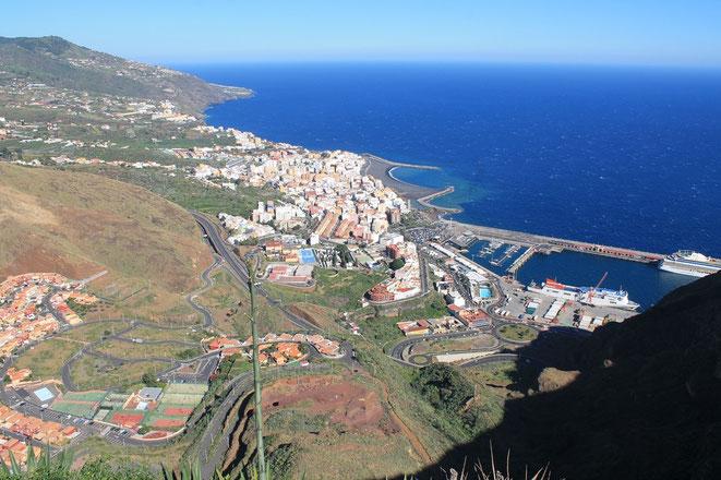 Blick vom Mirador de La Concepción