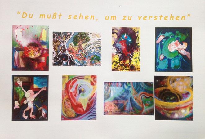 Ausstellungseröffnung am 15.8.2015 in der großen Wachstube auf Burg Rheinfels in St.Goar! Die Galerie ist ab 18 Uhr geöffnet- der Künstler begrüßt sie bei einem Sektempfang persönlich!