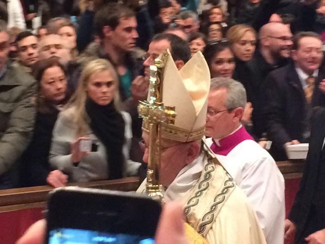 vêpres de la solennité de sainte Marie Mère de Dieu