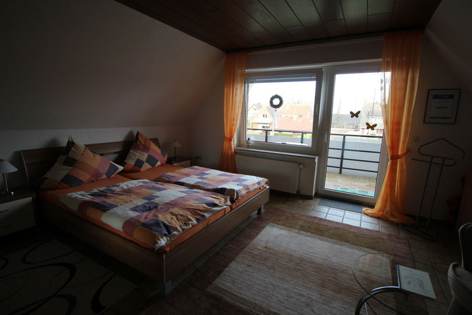 Doppelzimmer 2 mit Balkon