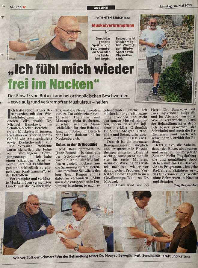 Kronen Zeitung 18.5.2019