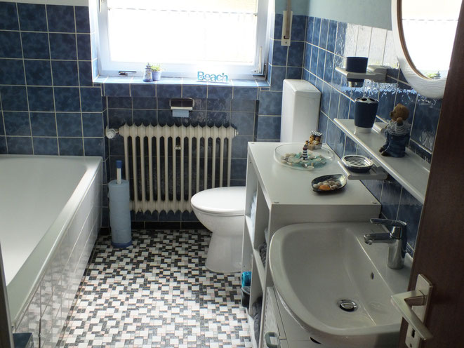 Bad Dusche und WC