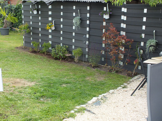 Wellness Land, Gartenbereich