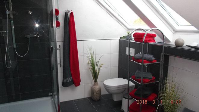 Unser neues Bad, modern und ansprechend