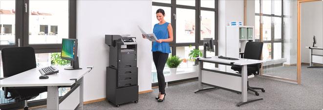 Konica Minolta zwart-wit printers