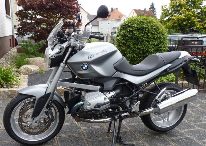 BMW R 1200 R - Gabys letztes Mopped