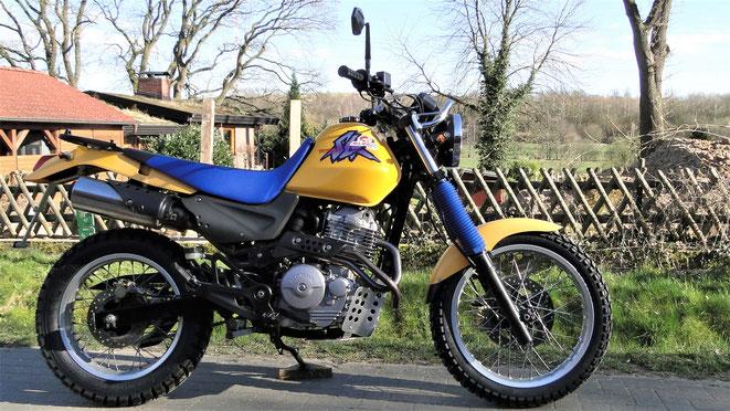 Honda 650 SLR - mein aktuelles Motorrad - seit April 2020