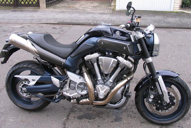 Yamaha MT01 - mein vorletztes Motorrad, ein Traum, hätte ich es bloß behalten - von 2007 bis 2010