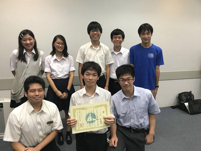 最終プレーオフに滑り込んだ県立船橋高校のメンバー。2月2日は埼玉3位との熱戦が予想されます。