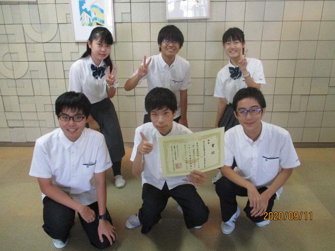 優勝した西大和学園の皆様。厳しい関西リーグで鍛えられた実力を存分に発揮していただきました!