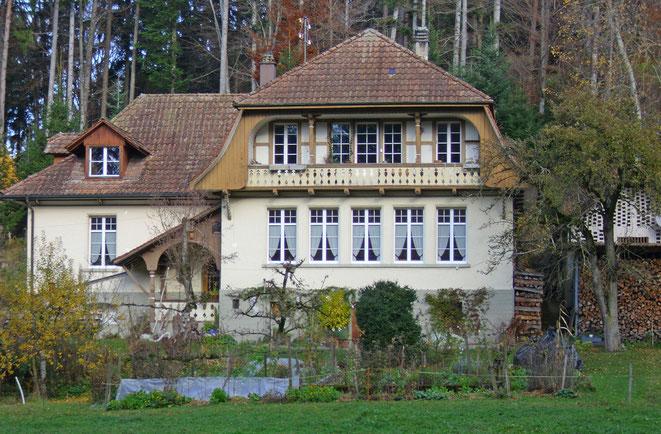 Das Probelokal Schulhaus Kessibrunnholz