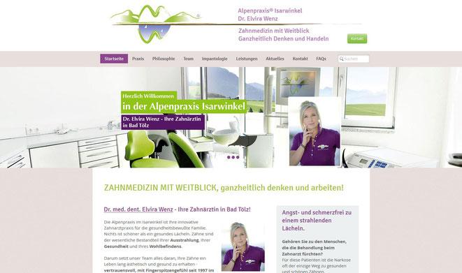 Alpenpraxis Isarwinkel, Bad Tölz, Dr. med. dent. Elvira Wenz
