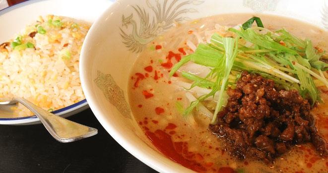 岐阜・海津で中華ランチといえば「稲金海津店」担々麺セットが一番人気!