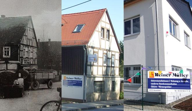 Bild: Die Elektro-Firma Reiner Mueller OHG aus 01723 Kesselsdorf im Wandel der Zeit