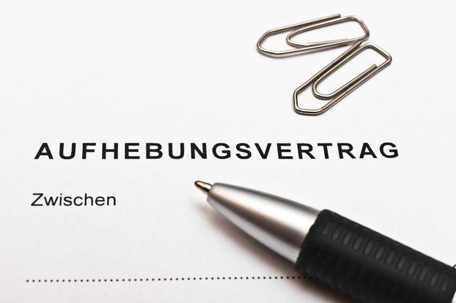 Aufhebungsvertrag; Wirtschaftsdetektei Stuttgart | Wirtschaftsdetektive | Detektei
