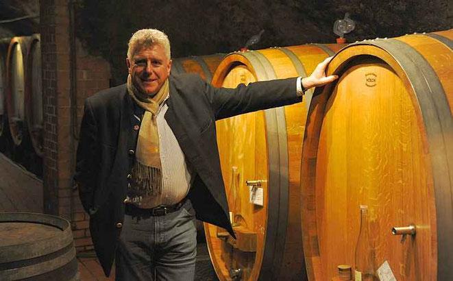 Dr. Tom Drieseberg, Chef der Weingüter Wegeler, Oestrich-Winkel und Bernkastel  Foto: Jörg Leister