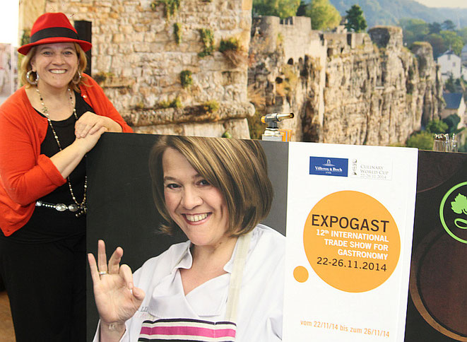 Sterneköchin Léa Linster empfiehlt die 12. EXPOGAST Foto: The Culinarian