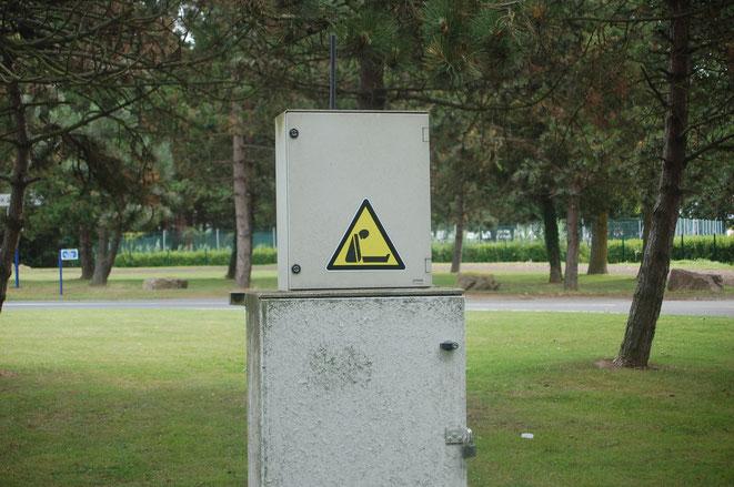 Keine Ahnung was uns dieses Schild sagen soll...