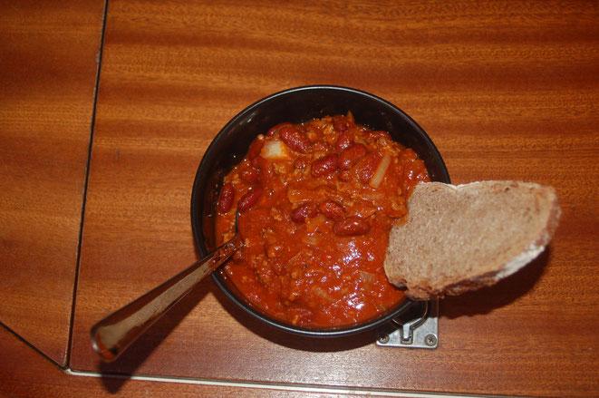 Chili con carne alla Morgana